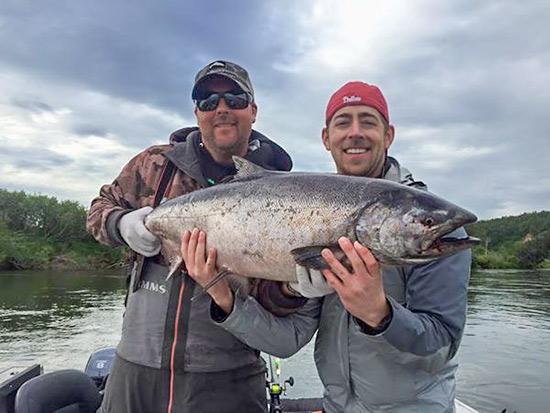 Alaska king salmon fishing nushagak river 2016 for King salmon fishing alaska